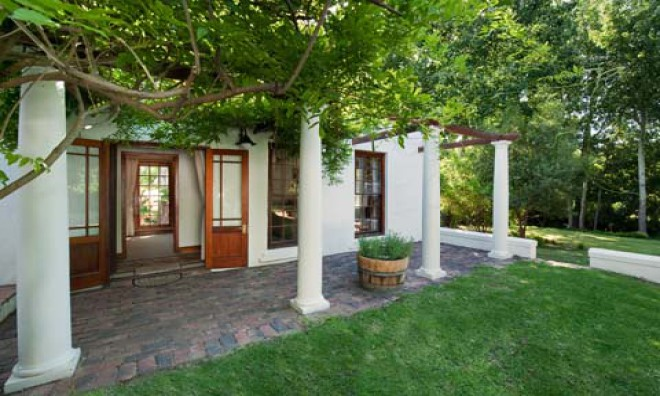 accommodation in Franschhoek