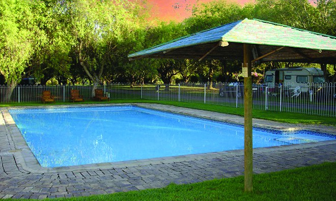 Accommodation at Kleinplaas Holiday Resort