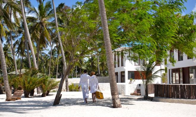 Accommodation at Indigo Beach Zanzibar