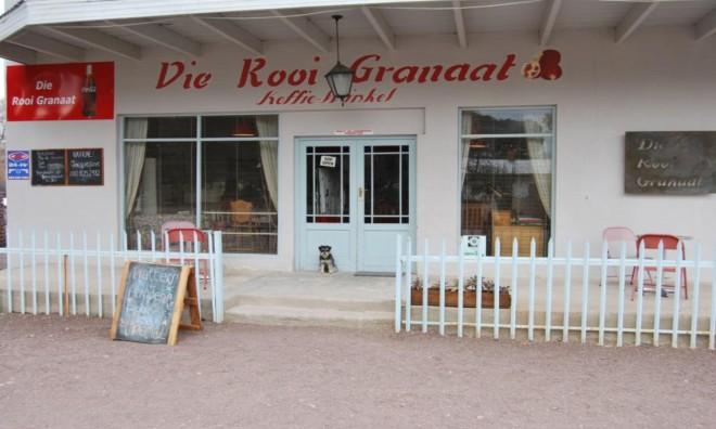 Die Rooi Granaat Guesthouse, Coffeeshop&Deli