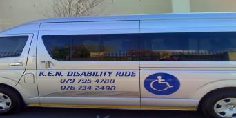 K.E.N Disability Ride